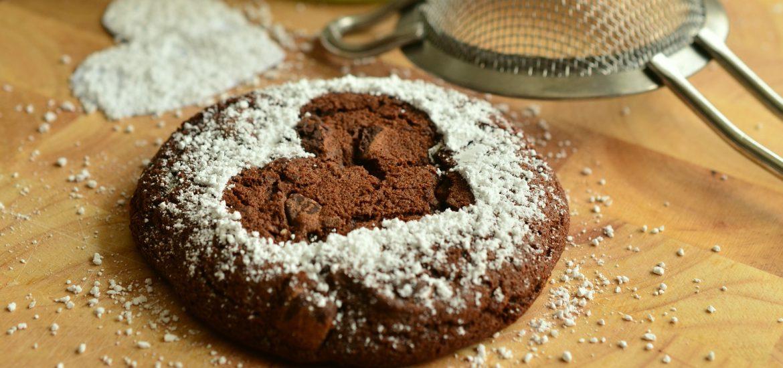 coeurs de brownies