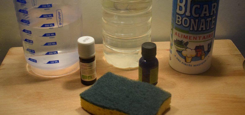 spray nettoyant maison